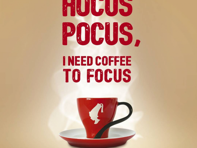 Hocus pocus, I need coffee to focus!